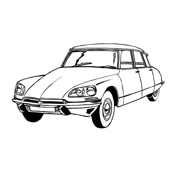 citroen ds vintage car