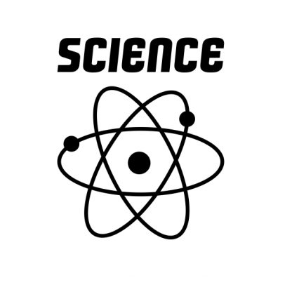 science black heat transfer on a white t-shirt