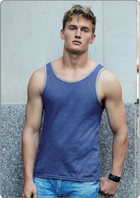 T-Shirt types - tank top for men