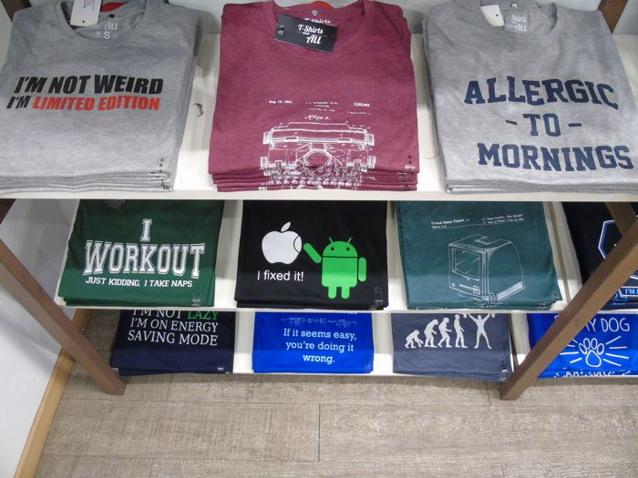 Popular t-shirt colors- multiple colors