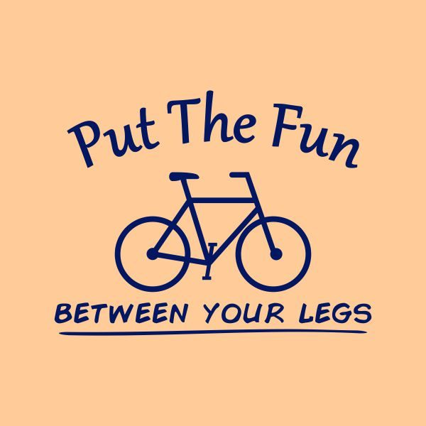 put the fun between your legs heat transfer on a natural tshirt